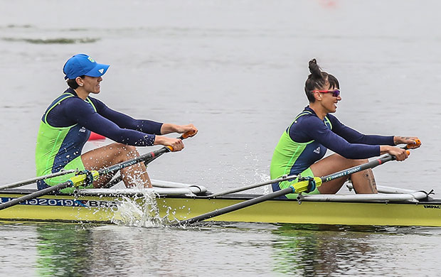 Yanka Britto e Luana Gonçalves disputaram a Final do Double Skiff Feminino (W2x)